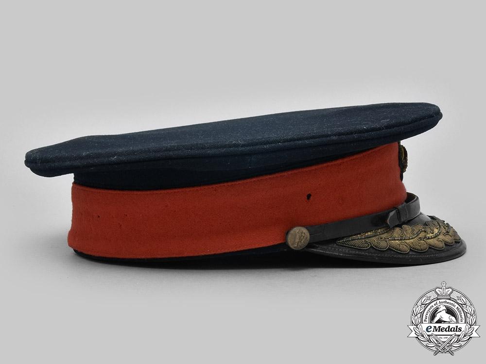 United Kingdom. A Royal Corps of Signals Brigadier's Forage Cap, c.1940