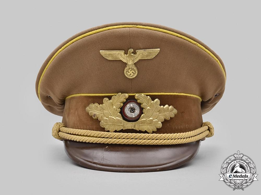 Germany, NSDAP. A Political Leader's Visor Cap, Reich Level
