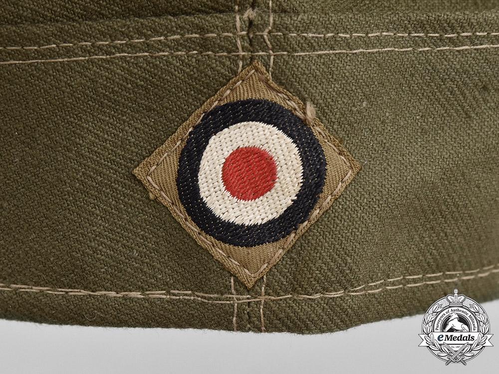 Germany, Heer. A Tropical EM/NCO's Overseas Cap, c. 1943
