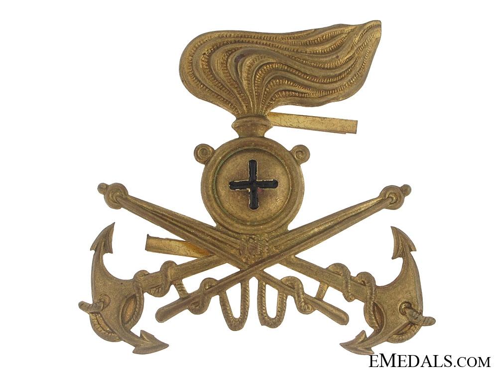 Naval Carabinieri (Police) Badge
