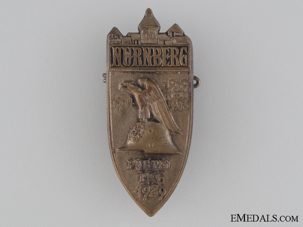 Nuremburg Party Rally Badge 1929