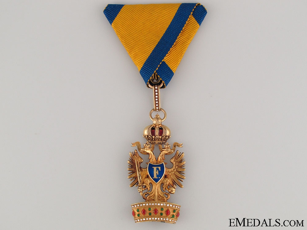 Order of the Iron Crown in Gold