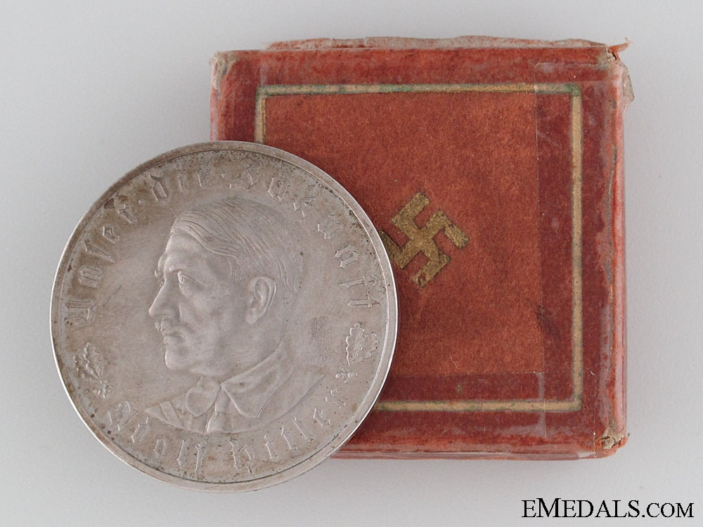 Silver AH Medal in Case
