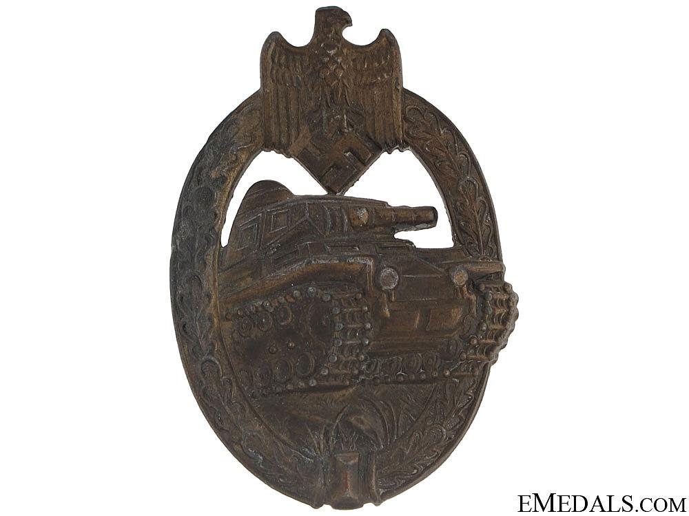 Tank Badge - Bronze Grade