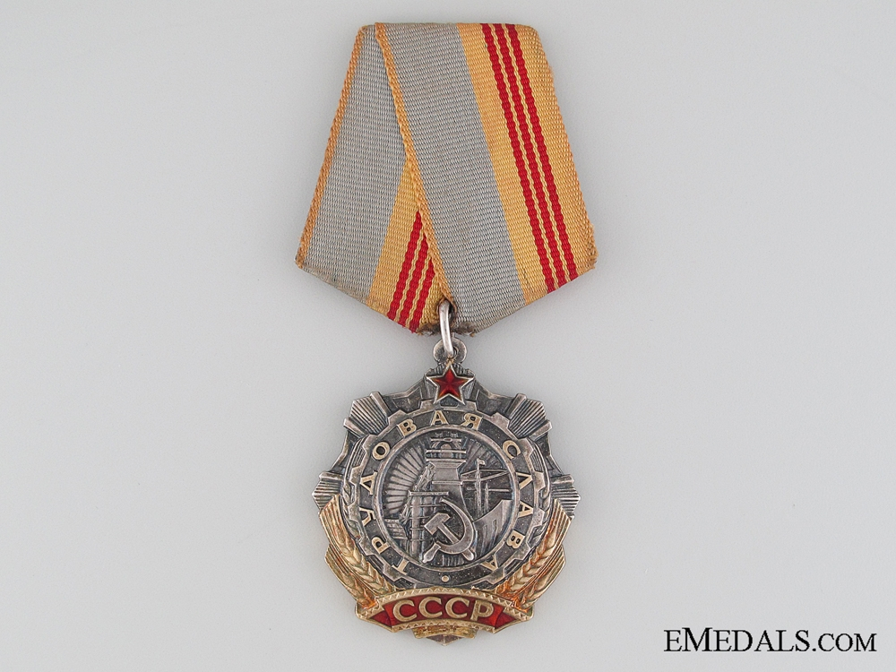 The Order of Labour Glory, 3rd Class,