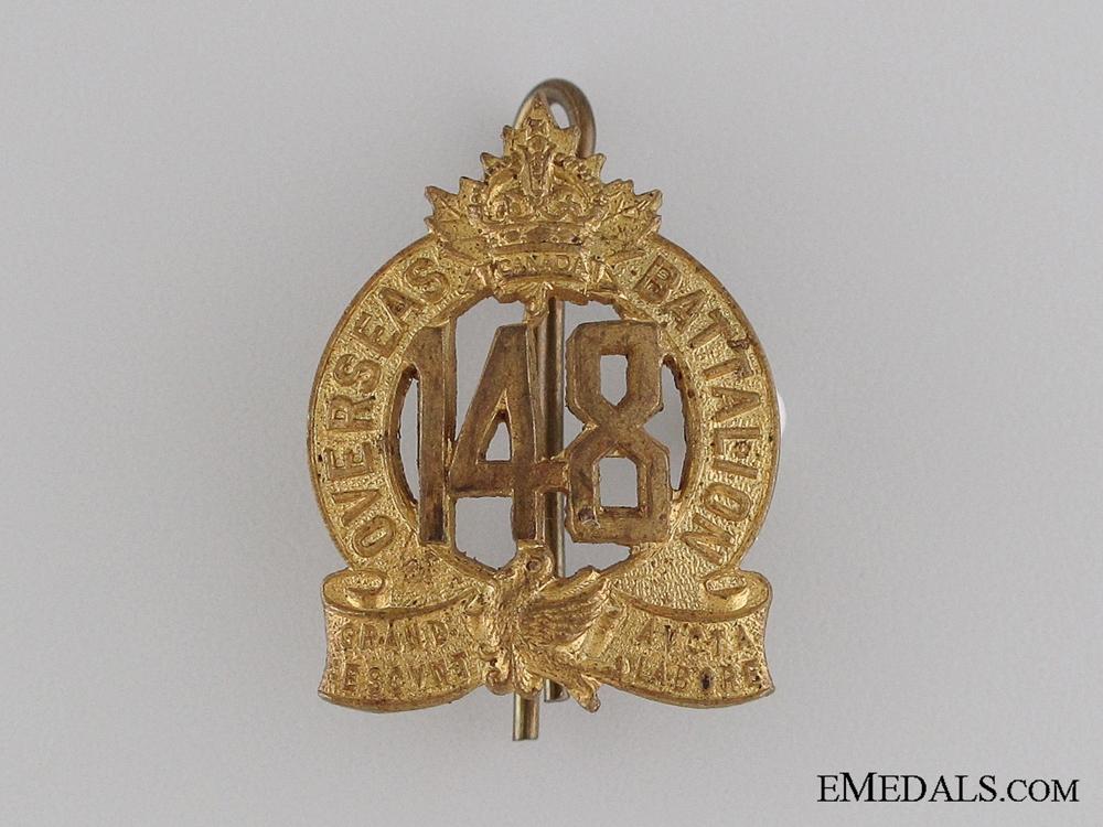 WWI 148th Infantry Battalion Collar Tab CEF