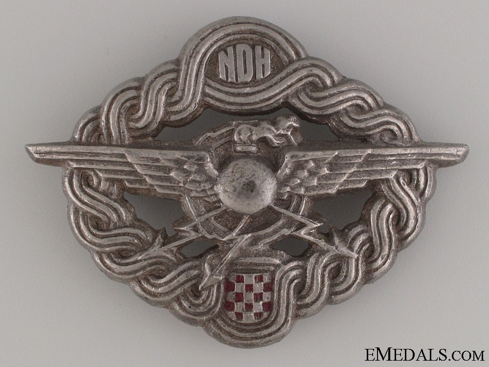 WWII Air Gunner & Radio Operator Badge