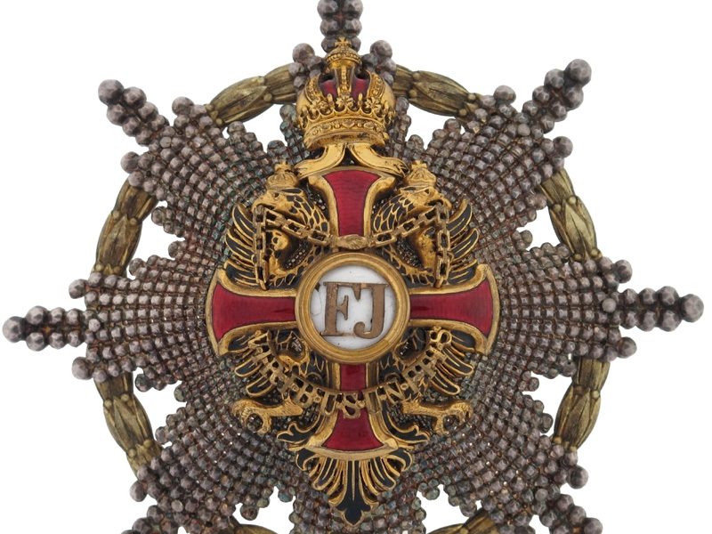 Order of Franz Joseph - Grand Cross Star