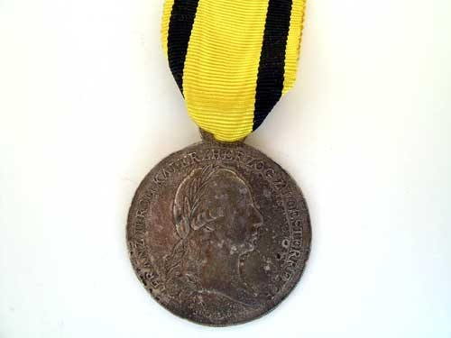 LOWER AUSTRIA MERIT MEDAL 1797