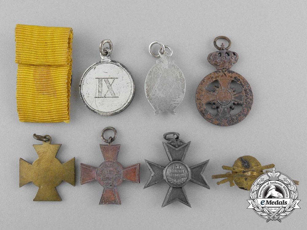 Eight miniature german medals awards and decorations for Awards and decoration