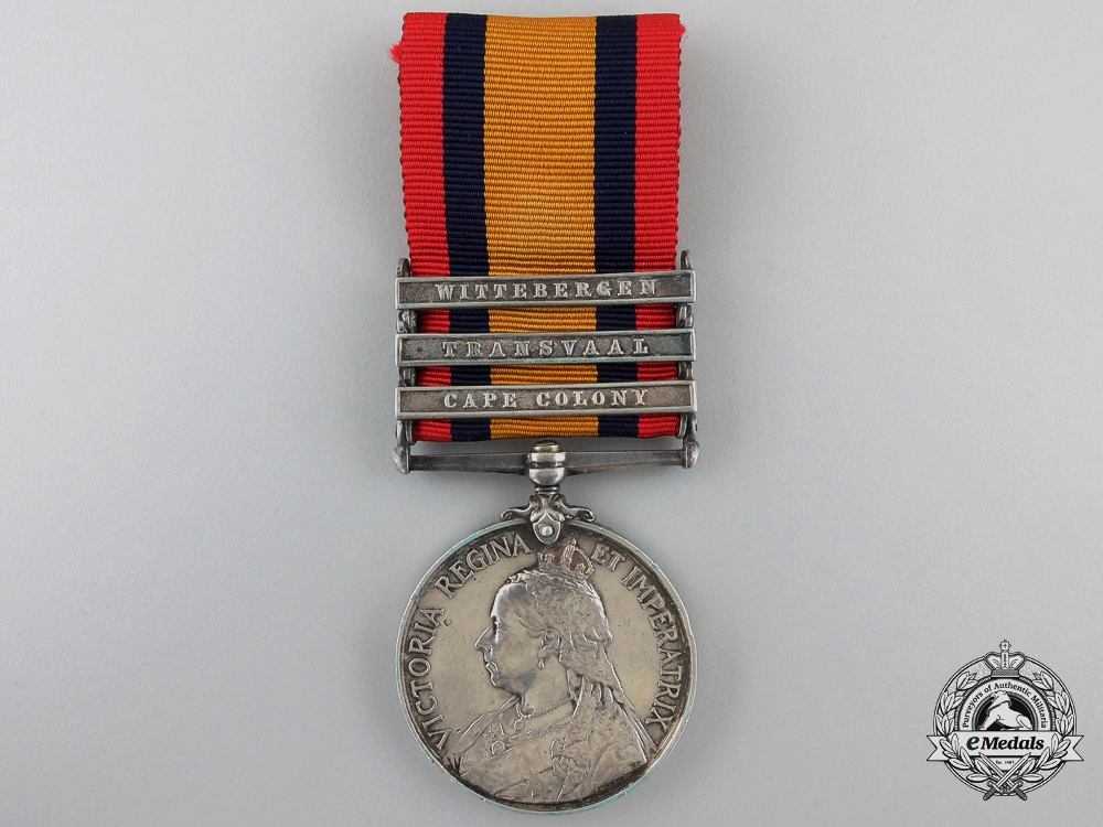 A Queen's South Africa Medal to Private W. Hannon of the Royal Irish Regiment