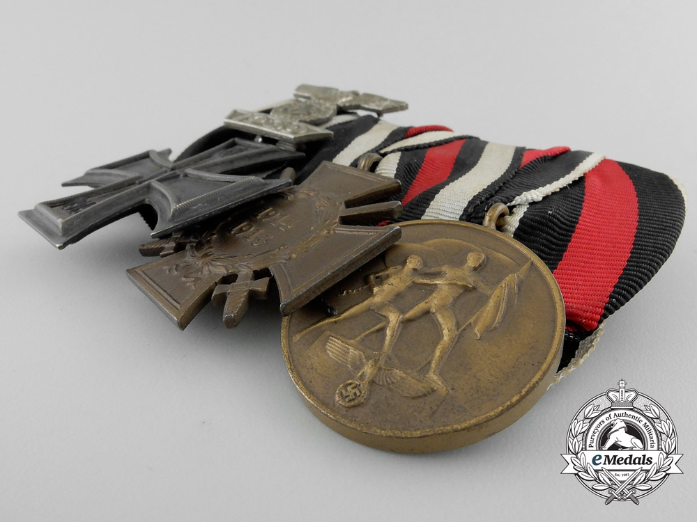 An Iron Cross Medal Bar with Spange 1939