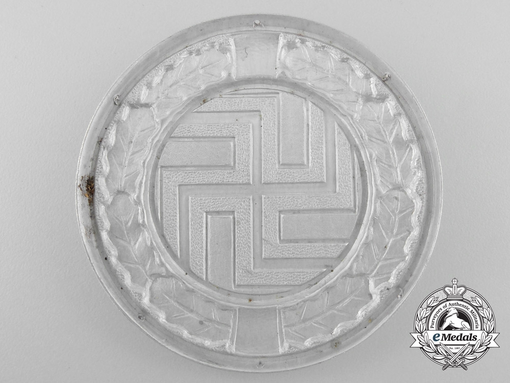 A Second War Badge of the German Regiment (Croatian Army)