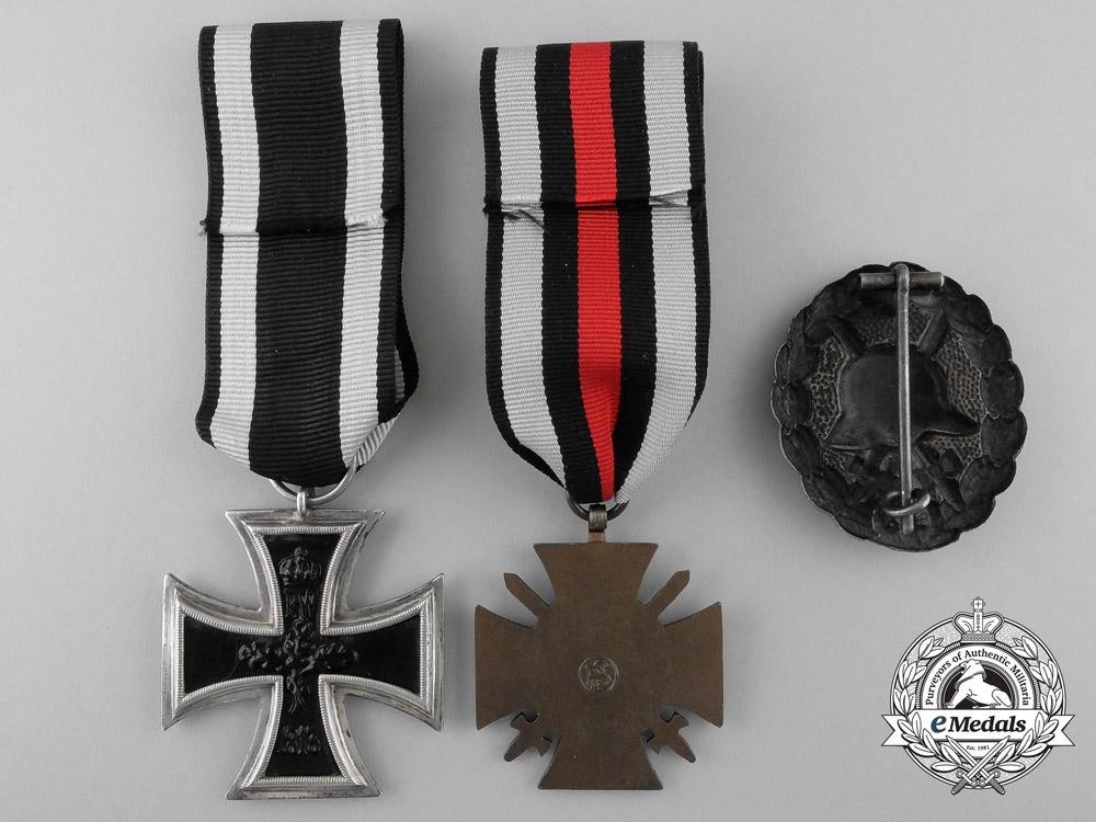 Three First War German Medals & Awards