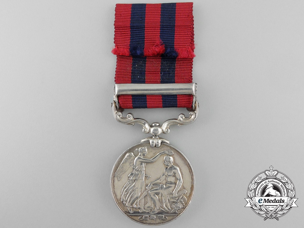 An 1854-1895 India General Service Medal to the Royal Scottish Fusiliers