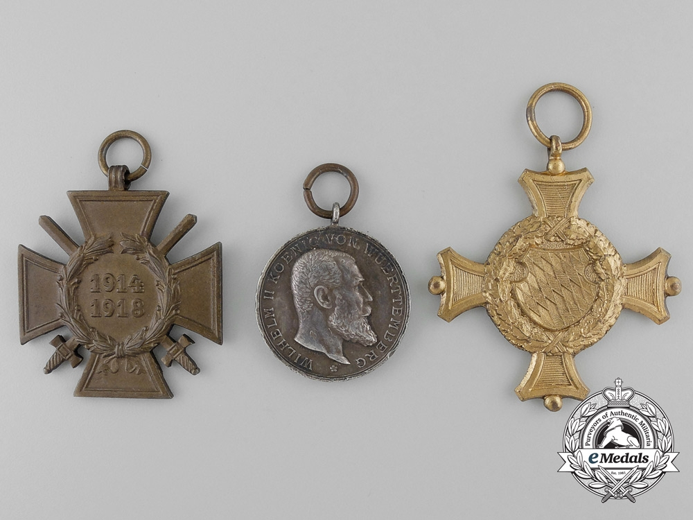 A first war german medal bar of eight awards decorations for Awards decoration