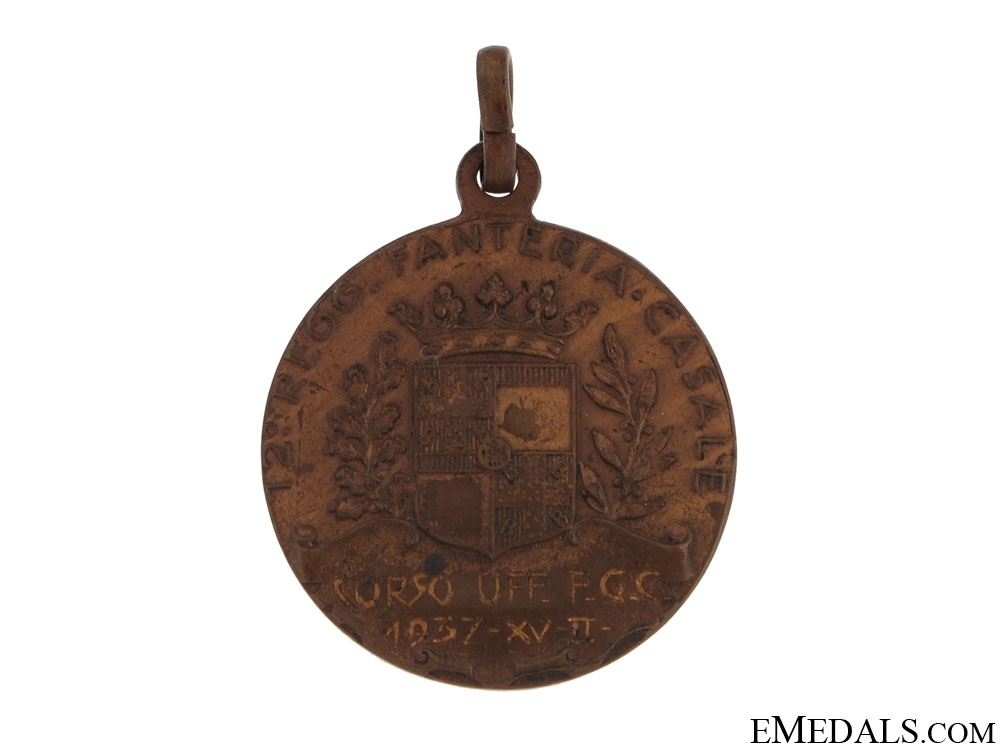 A 12th Regiment Medal