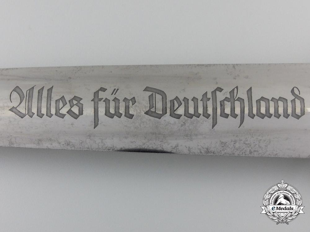 An SA Dagger by Carl Julius Krebs (Kronenkrebs), Solingen