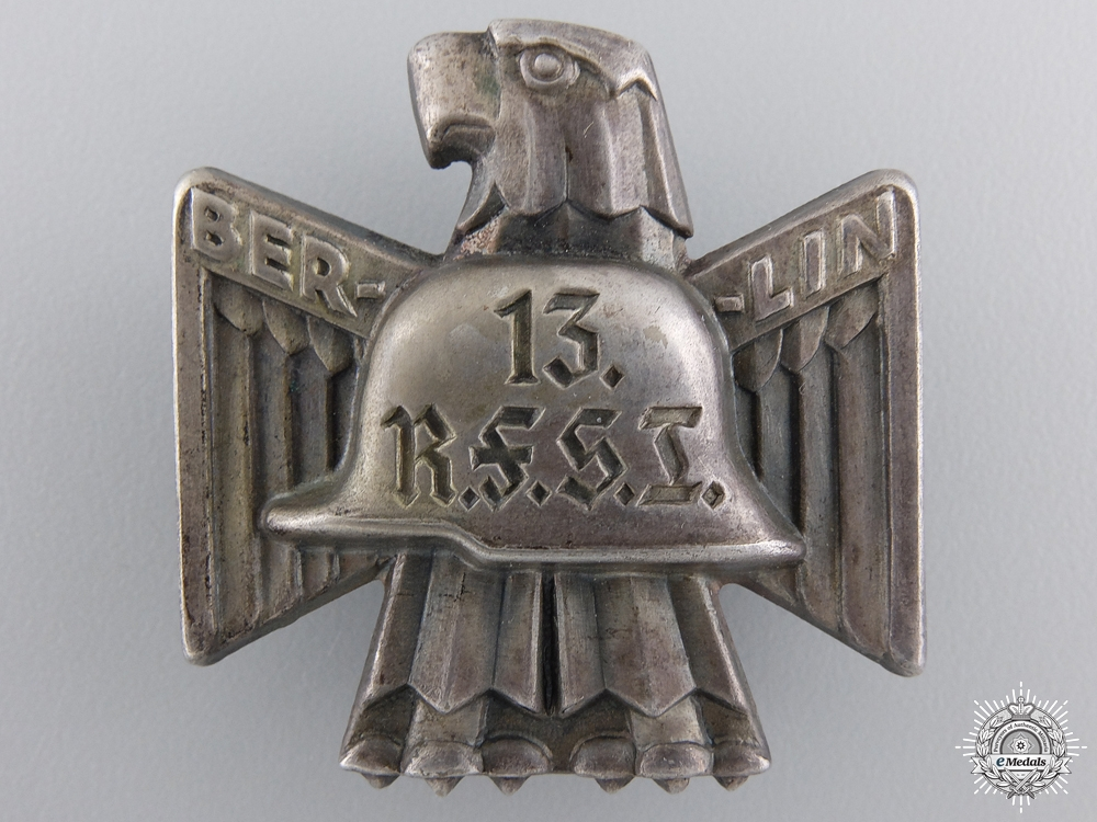 A 13th R.F.S.I. Berlin Tinnie