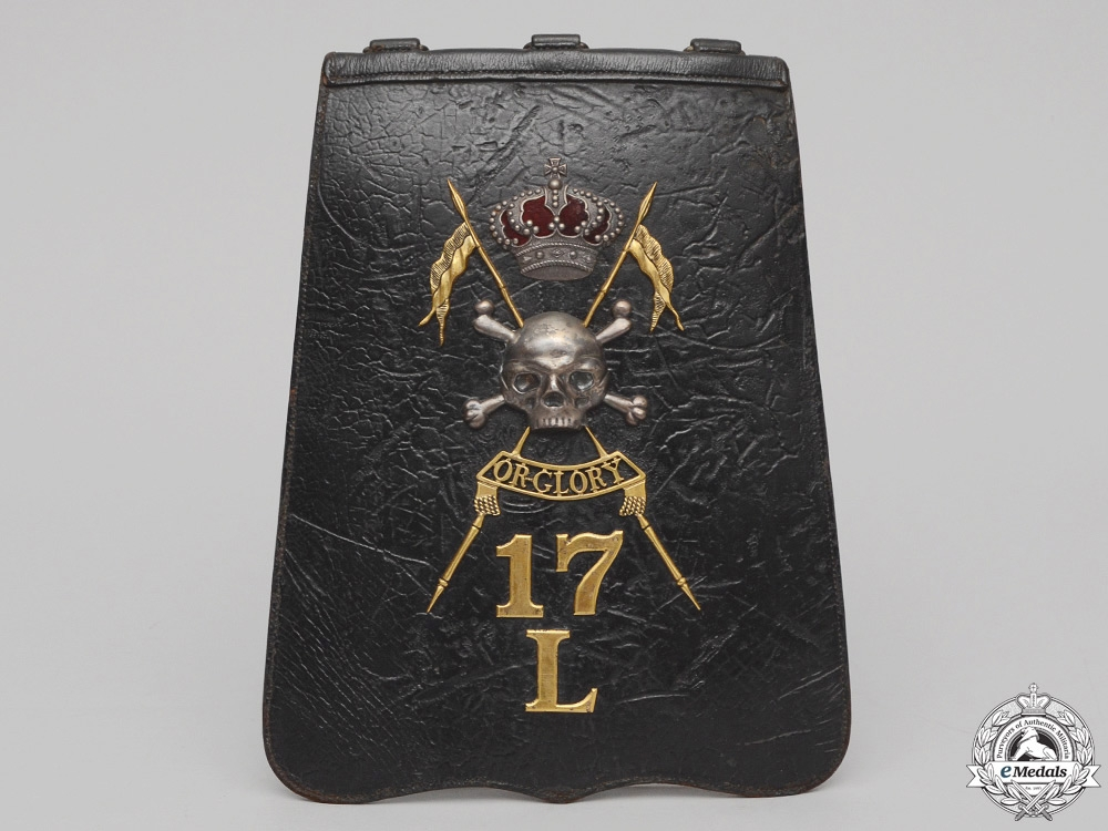 A Charge of the Light Brigade 17th Lancers Officer's Sabretache