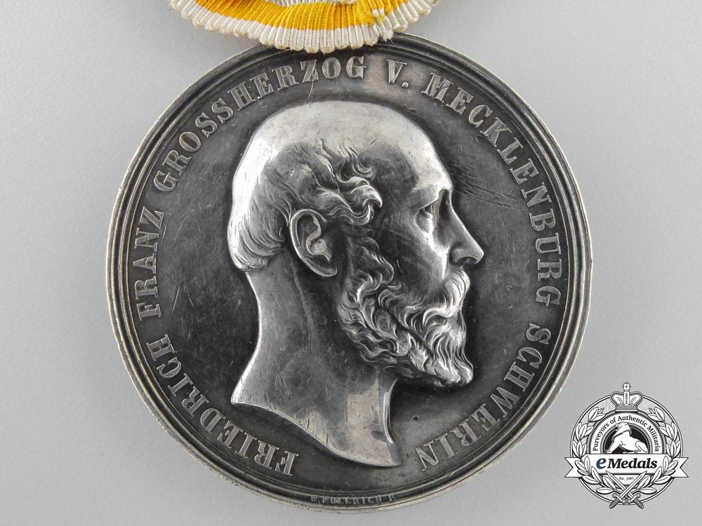 Mecklenburg. A Silver Merit Medal, c.1900