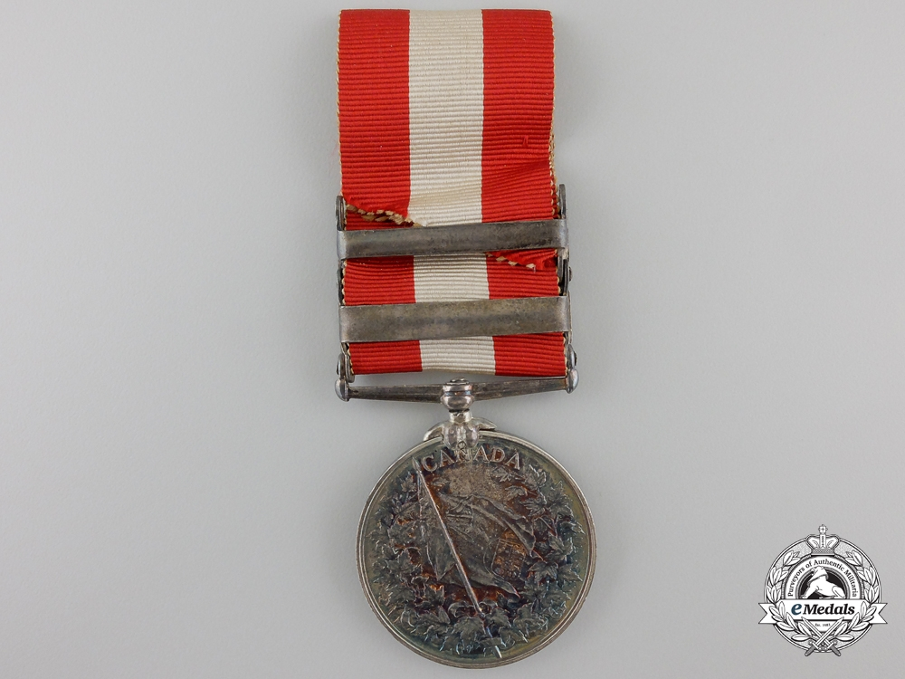 A Canada General Service Medal with Red River Bar