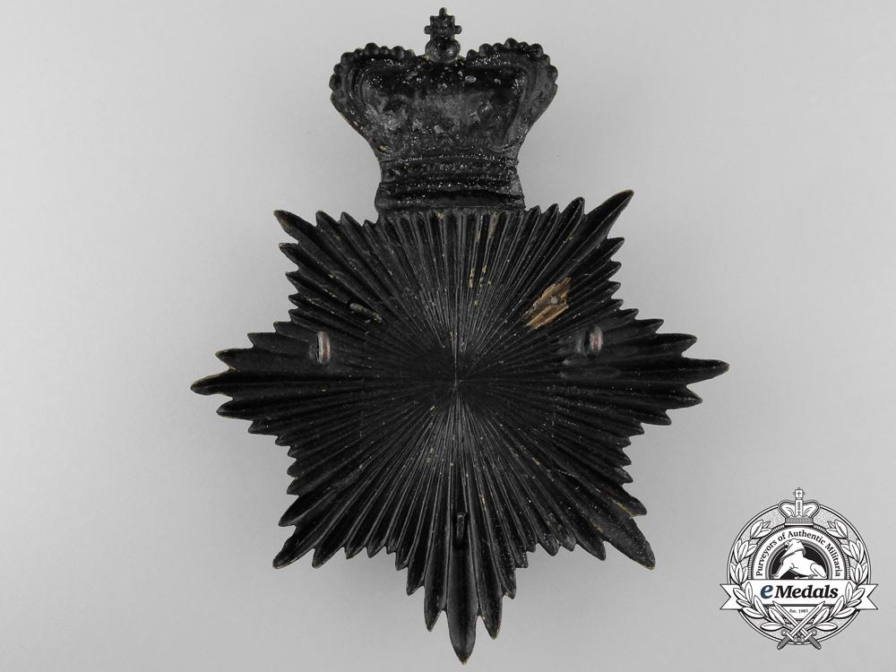 A Victorian London Rifle Brigade Helmet Plate