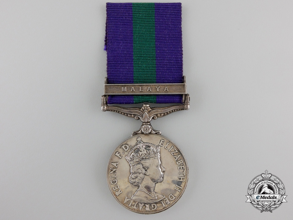 A General Service Medal 1918-1962 to the Royal Electrical and Mechanical Engineers