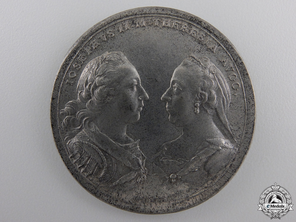A 1770 Austrian Co-Regency of Emperor Joseph II & Marie Theresa Medal