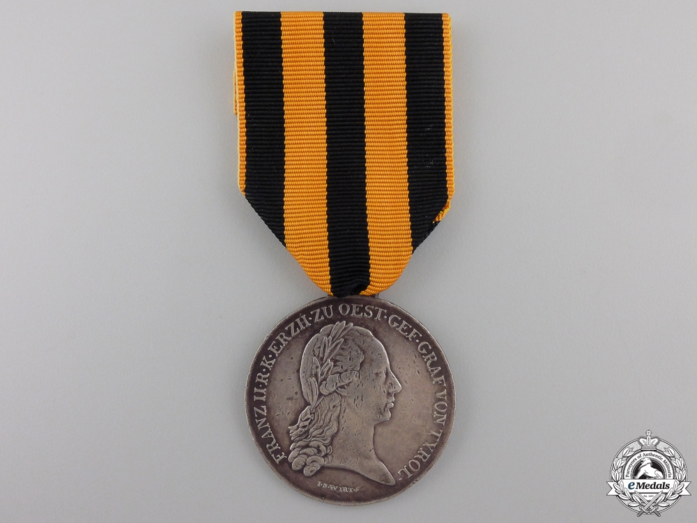 A 1797 Lower Austria Military Merit Medal