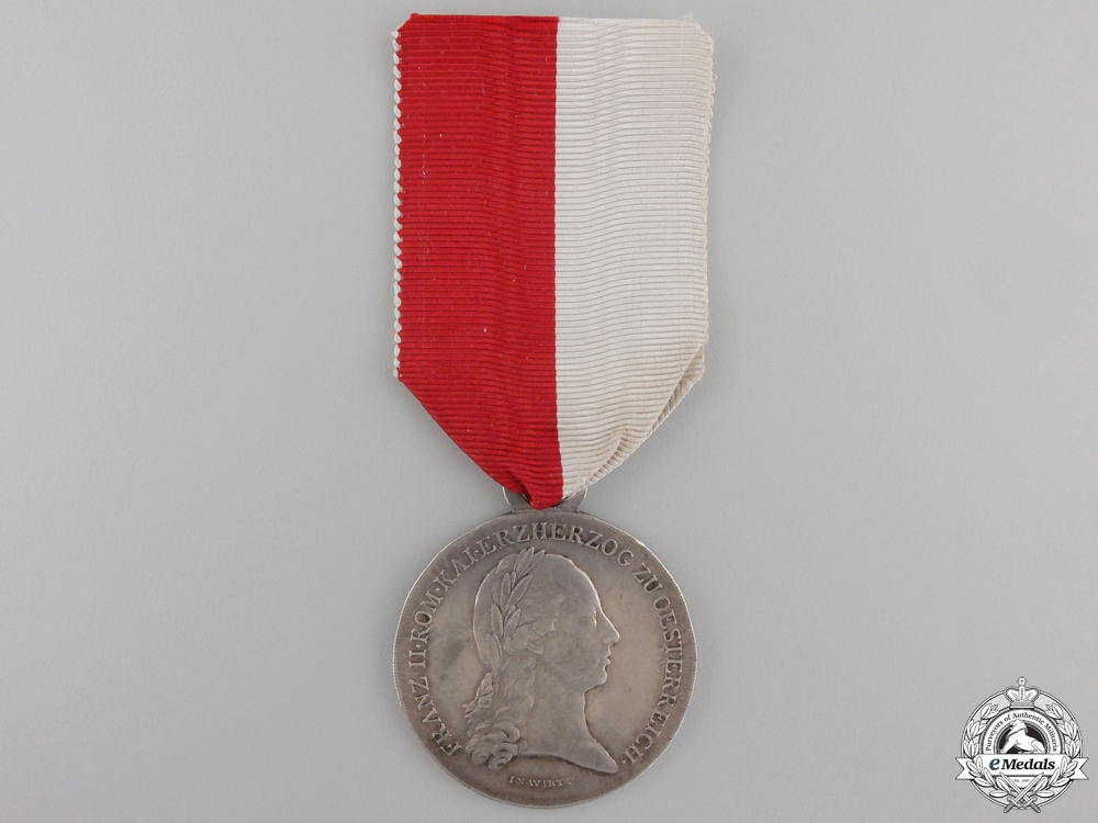 A 1797 Lower Austria Military Merit Medal