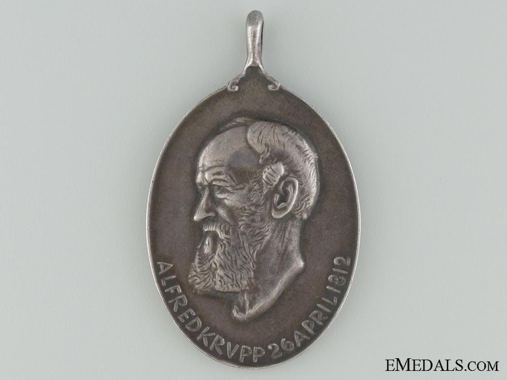 A 1812-1912 Krupp Ammunition Medal