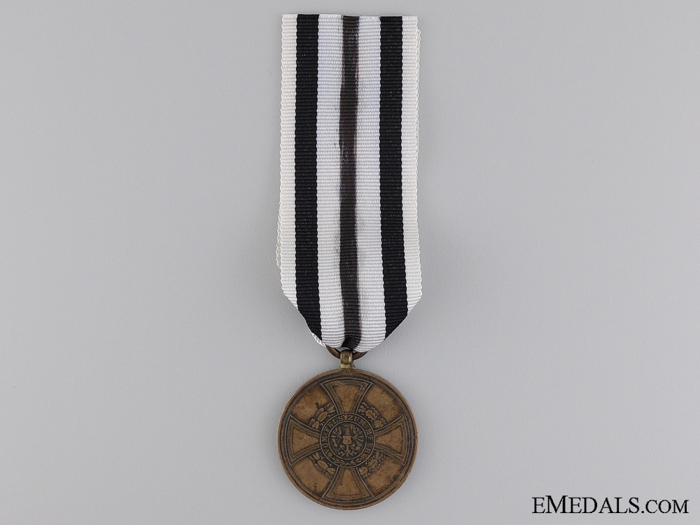 A 1848-1849 Prussian Hohenzollern Campaign Medal