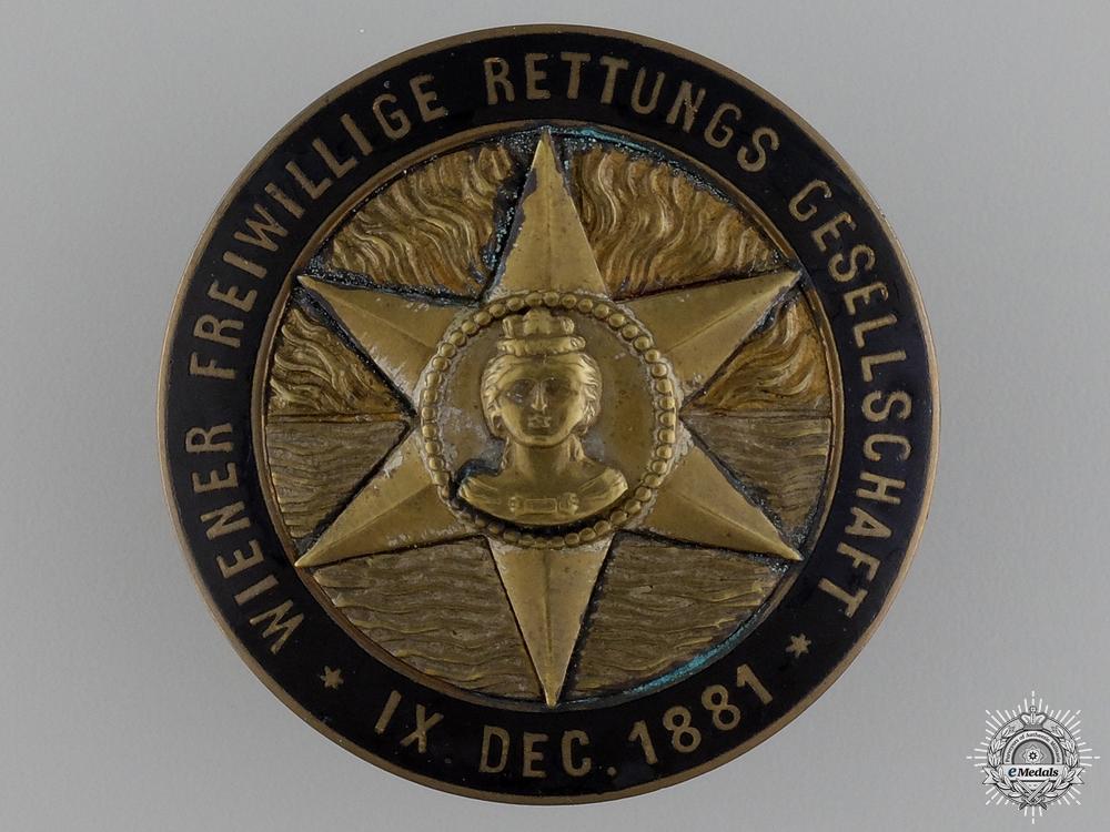 A 1881 Austrian Life Saving Badge