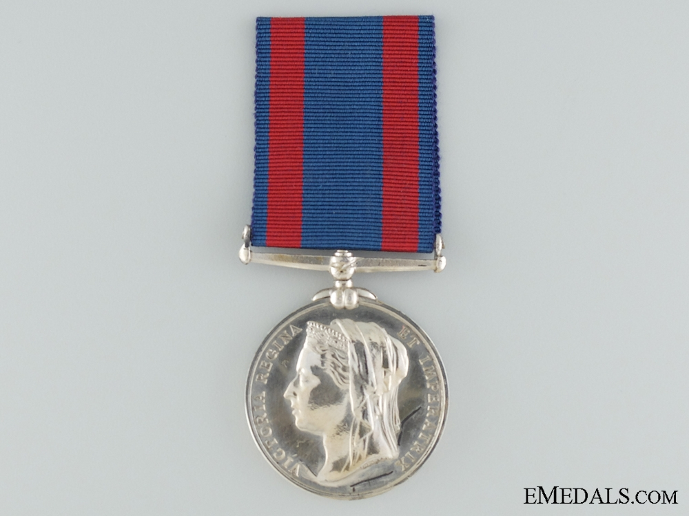 A 1885 North West Canada Medal; Unnamed