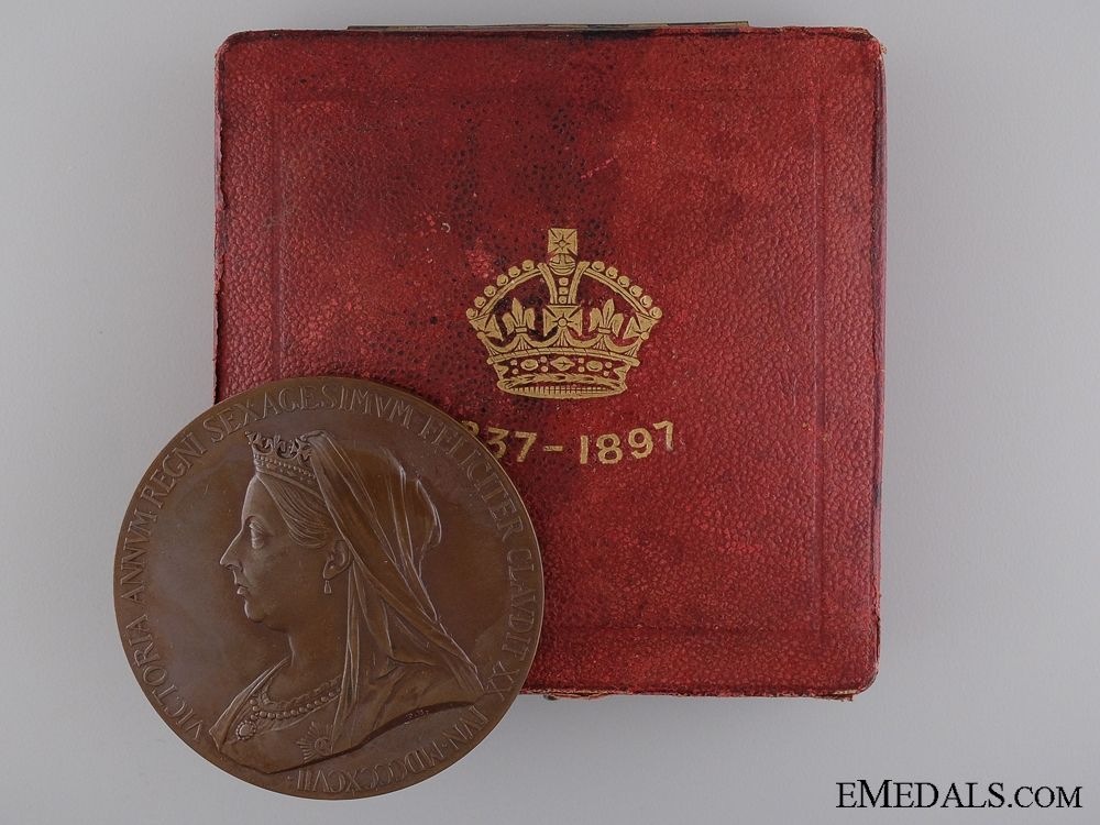 A 1897 Diamond Jubilee of Queen Victoria Medal