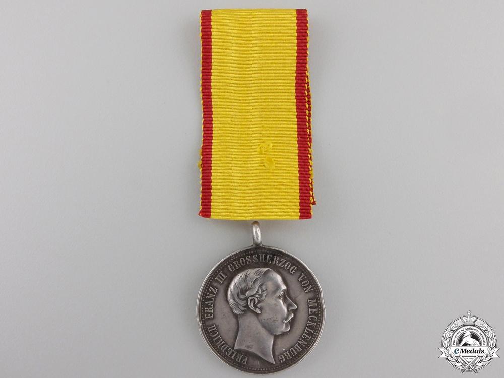 A 1897 Friedrich Franz III Commemorative Medal