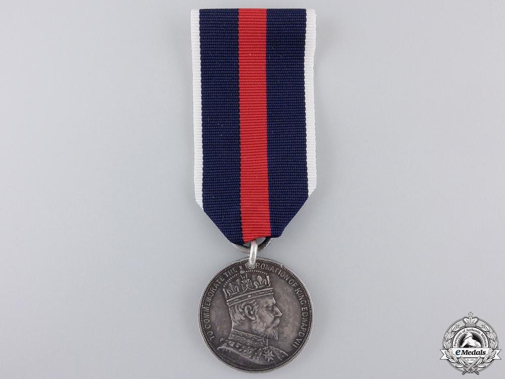 A 1902 Edward VII Natal Coronation Medal