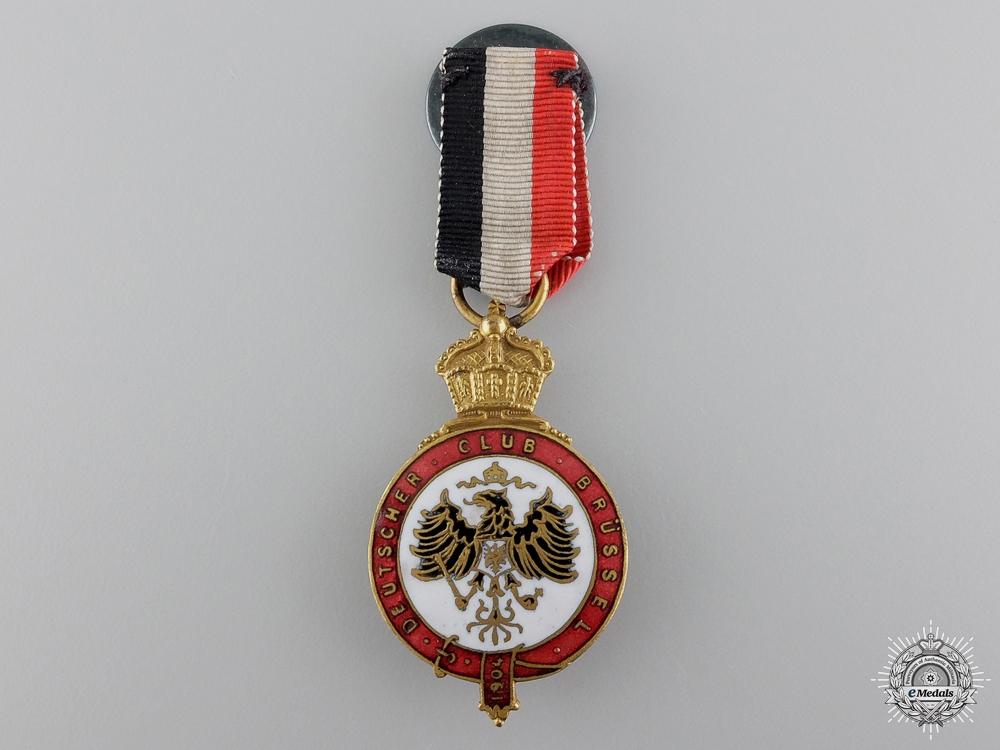 A 1904 German Club in Brussel Medal