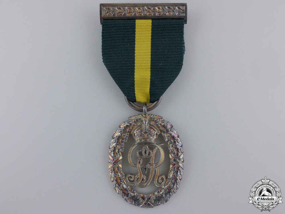 A 1908 George V Territorial Decoration