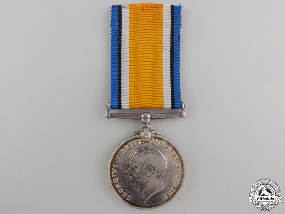 A 1914-18 War Medal to the Canadian Tank Corps