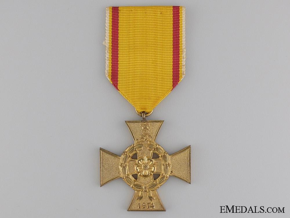 A 1914-1918 Lippe-Detmold War Merit Cross; Second Class