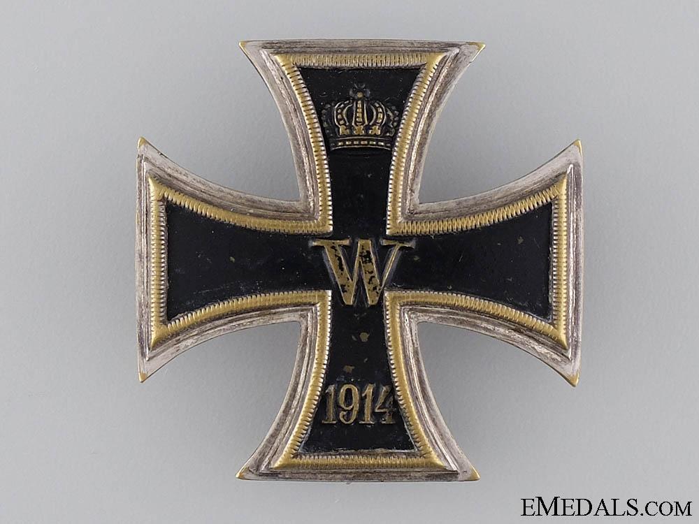 A 1914 Iron Cross First Class