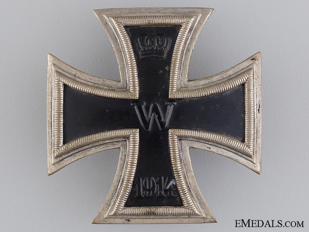 A 1914 Iron Cross First Class