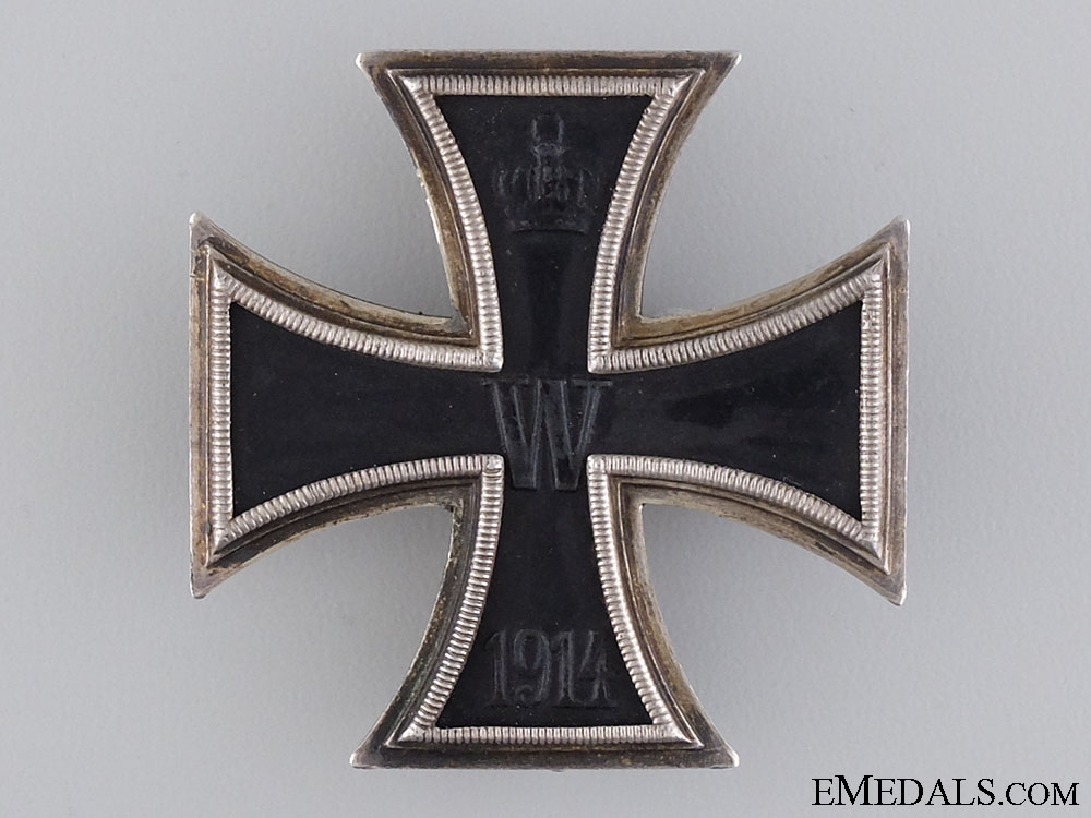 A 1914 Iron Cross First Class by Carl Dillenius
