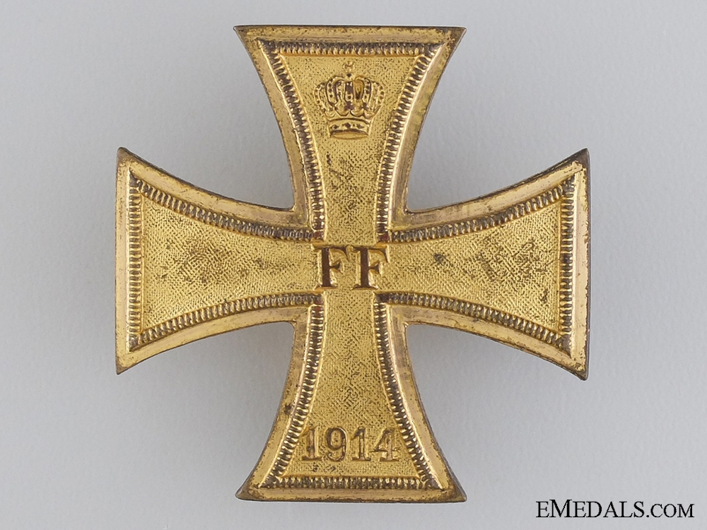 A 1914 Mecklenburg-Schwerin Military Merit Cross; 1st Class