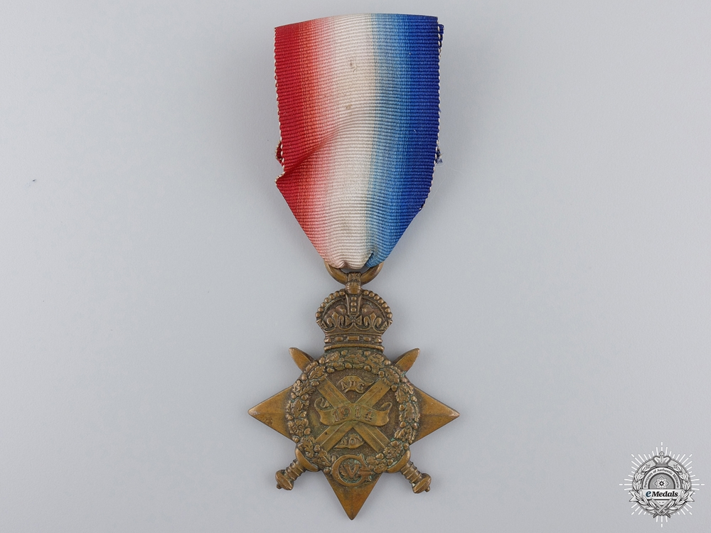A 1914 Star to the Royal Field Artillery