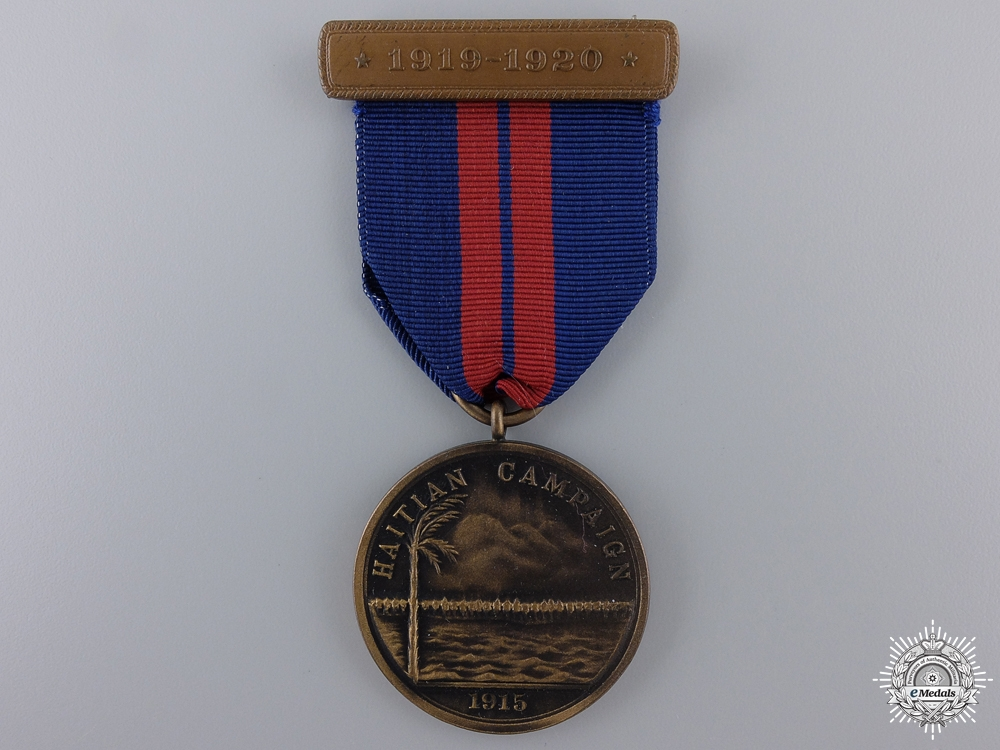 A 1915 American Marine Corps Haitian Campaign Medal