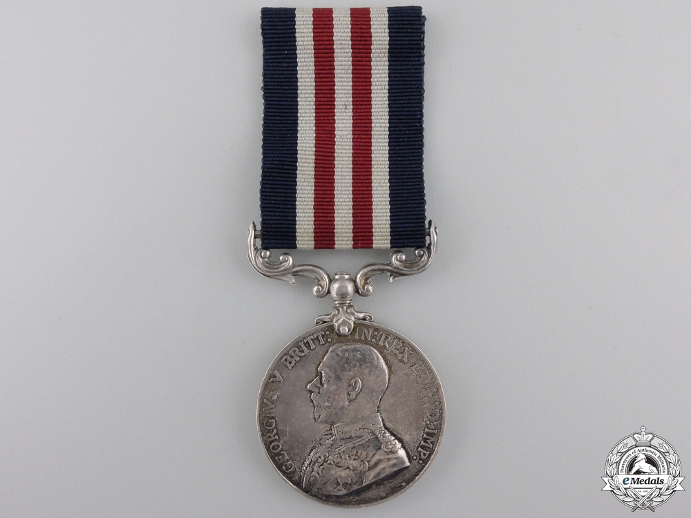 A 1916 Military Medal to the 160th Brigade Royal Field Artillery