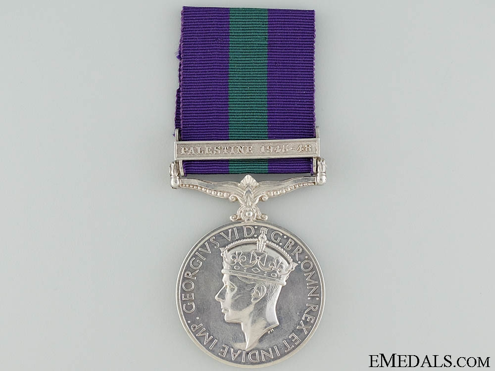 A 1918-1962 General Service to the Royal Signals Corps
